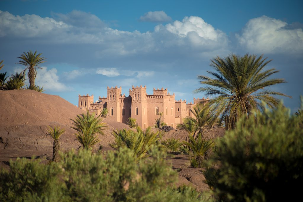 kasbah in Ouarzazate area