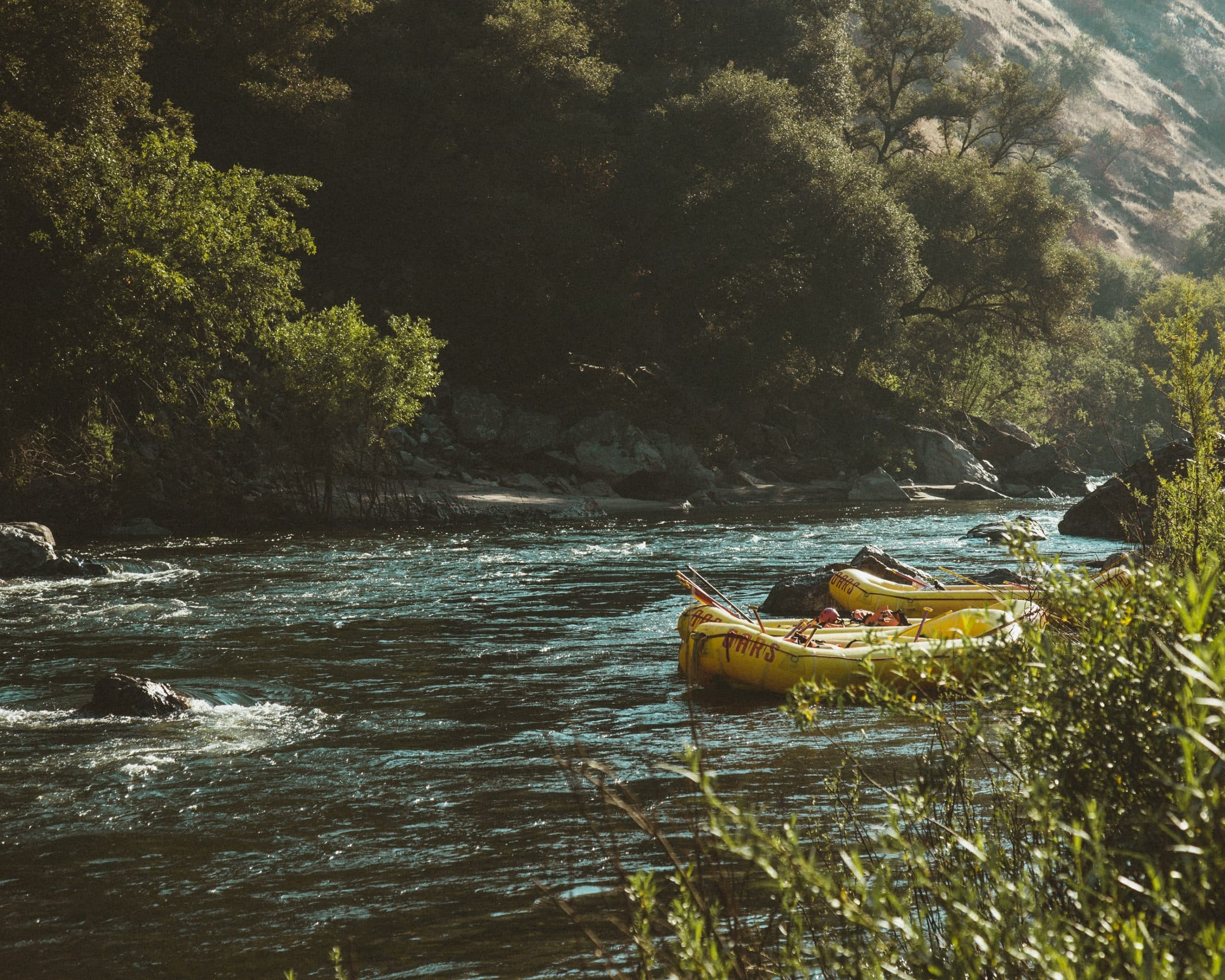 gallery image for 1 Day Rafting Morocco's Grand Canyon Ahensal River